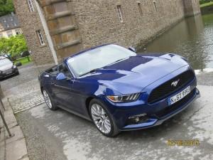 Ford Mustang: Leistung satt für die Alte Welt. spothits/Heiner Klempp