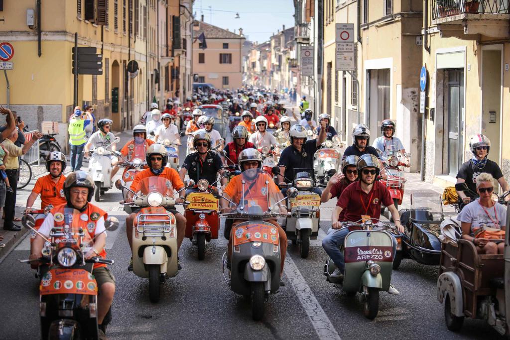 Vespa World Days 2015 in Biograd, Kroatien. © spothits/Piaggio
