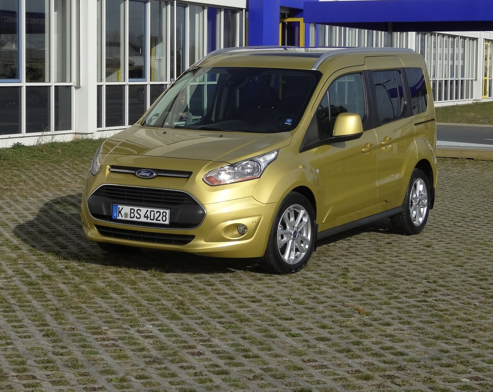 Ford Connect mit neuem Diesel. © spothits/Auto-Medienportal.Net