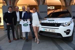 Land Rover mit Polo-Team auf Tour. © spothits/Auto-Medienportal.Net/Land Rover