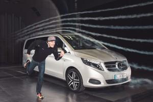 Ironman: Mercedes-Benz unterstützt die harten Jungs. © spothits/Auto-Medienportal.Net/Daimler