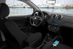 Seat Ibiza: Beste Verbindung. © spothits/Auto-Medienportal.Net/Seat