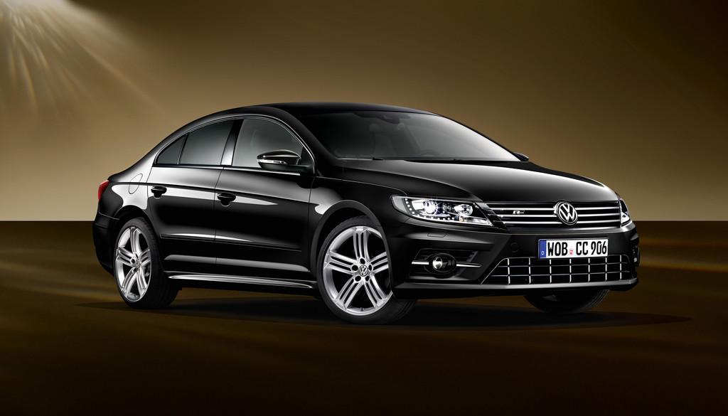 Volkswagen CC in dynamischem Schwarz. © spothits/Auto-Medienportal.Net/Volkswagen