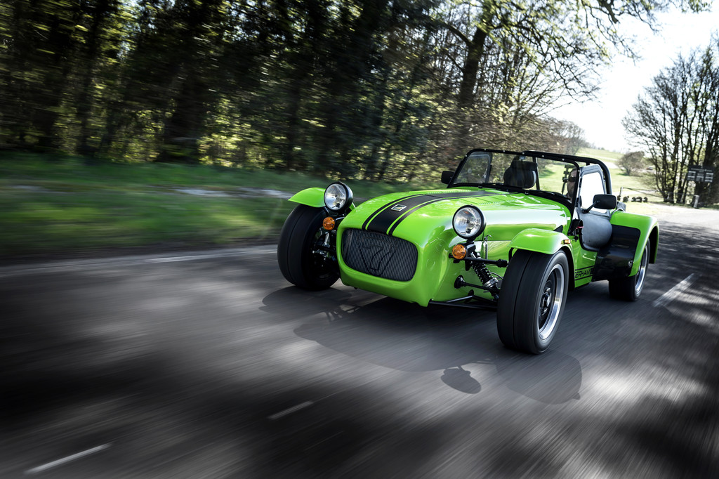 Caterham Seven 275: Für unter 36 000 Euro in fünf Sekunden auf 100 km/h. © spothits/Auto-Medienportal.Net/Caterham