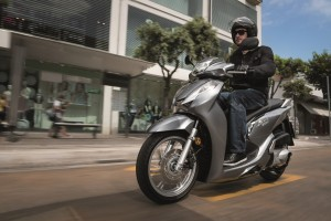 Honda SH 300i mit etlichen Neuerungen. © spothits/Auto-Medienportal.Net/Honda