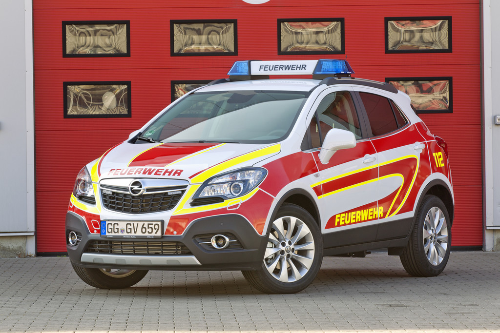 Opel auf der Interschutz. © spothits/Auto-Medienportal.Net/Opel