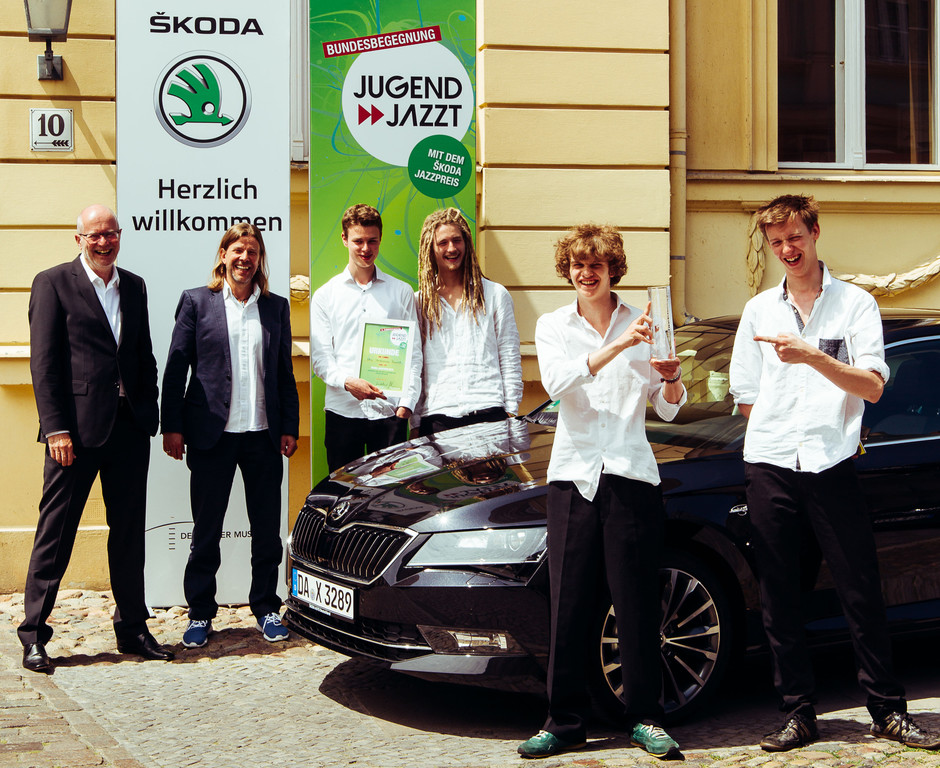 Quartett aus Berlin gewinnt den Skoda-Jazzpreis. © spothits/Foto: Christian Dargel