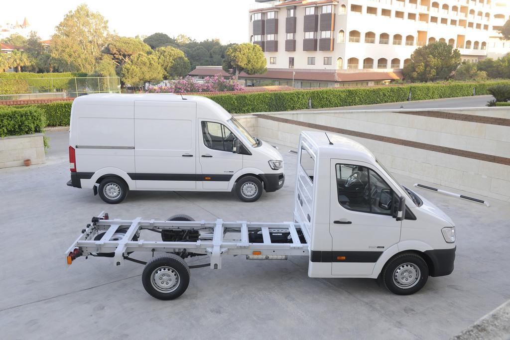 Hyundai H 350 Cargo startet bei 30 980 Euro. © spothits/Auto-Medienportal.Net/Hyundai