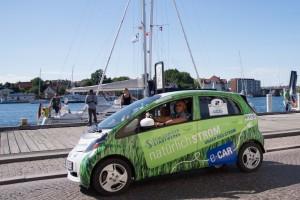 Mitsubishi EV gewinnt Elektro-Rallye. © spothits/Auto-Medienportal.Net/Redaktionsbüro BBS