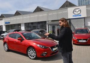 Sechs Gewinner fuhren bei Mazda mit Rea Garvey oder Samu Haber. © spothits/Auto-Medienportal.Net/Mazda