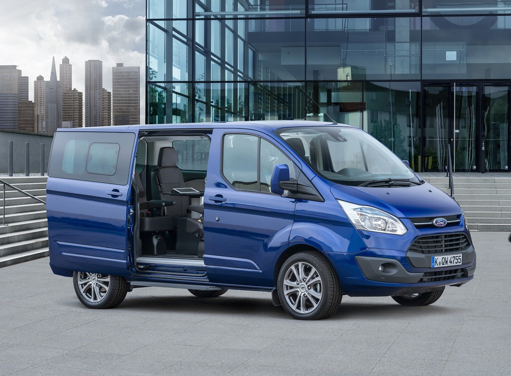 Ford Tourneo Custom fürs Big Business. © spothits/Auto-Medienportal.Net/Ford