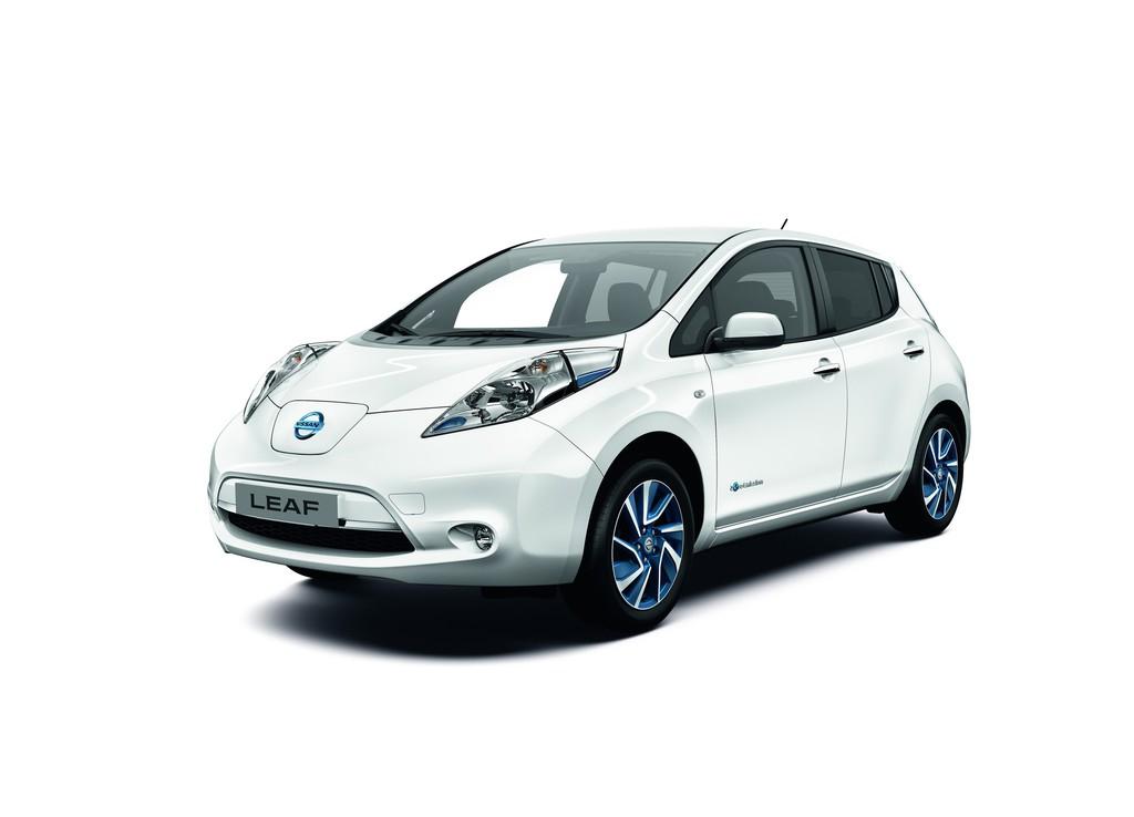 Schneller Laden mit der Limited Edition des Nissan Leaf. © spothits/Auto-Medienportal.Net/Nissan