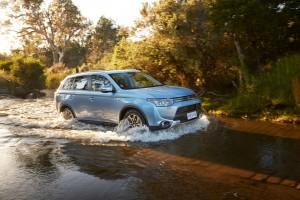 Mitsubishi spart 180 Tonnen CO2 ein. © spothits/Auto-Medienportal.Net/Mitsubishi