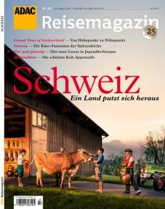 """ADAC gibt Reisemagazin """"Schweiz"""" heraus. © spothits/Auto-Medienportal.Net/ADAC"""
