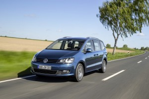 VW Sharan wird zum rollenden Smartphone. © spothits/Auto-Medienportal.Net/Volkswagen
