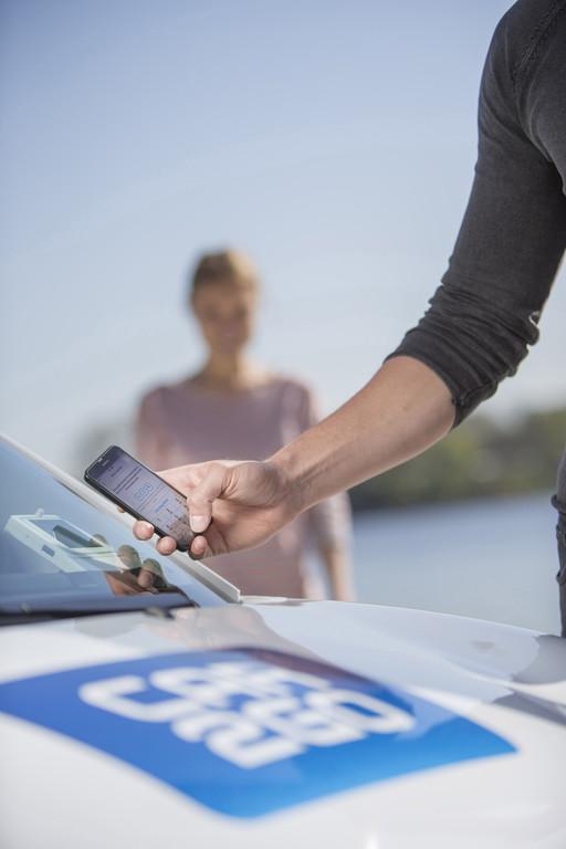 Car2go per App setzt sich durch. © spothits/Auto-Medienportal.Net/Daimler
