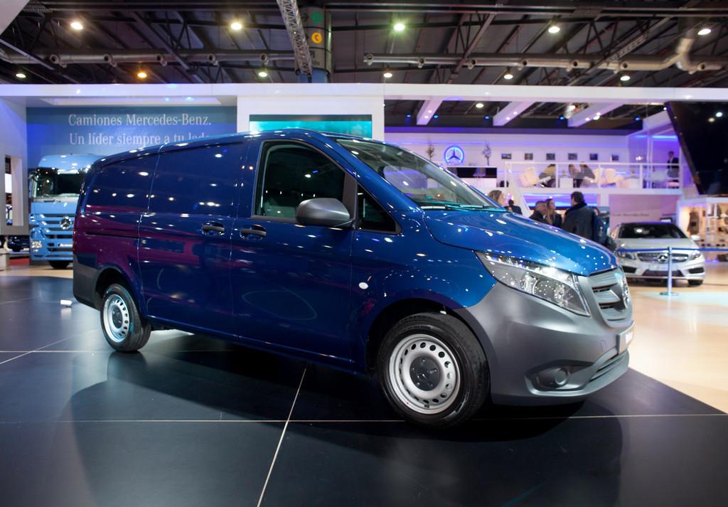 Mercedes-Benz Vans stellt Vito in Argentinien vor. © spothits/Auto-Medienportal.Net/Daimler