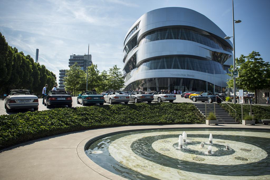 Sommerprogramm im Mercedes-Benz-Museum. © spothits/Auto-Medienportal.Net/Daimler