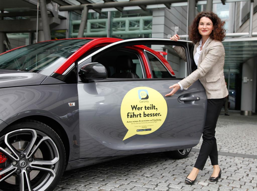 """Opel """"Car Unity"""": Das eigene Auto vermieten – Traumwagen mieten. © spothits/Auto-Medienportal.Net/Opel"""