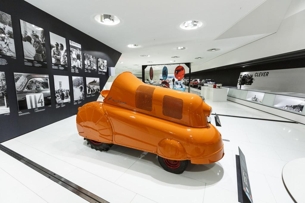"""Porsche-Museum: """"Porsche und die Fifties. Von Stuttgart in die Welt."""". © spothits/Auto-Medienportal.Net/Porsche"""
