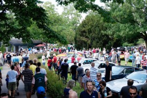 30 000 Besucher beim Klassikertreffen an den Opelvillen. © spothits/Auto-Medienportal.Net/Opel