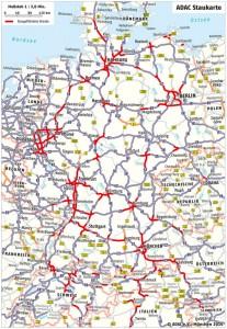 Stauprognose: Sommerreiseverkehr nimmt Fahrt auf. © spothits/Auto-Medienportal.Net/ADAC