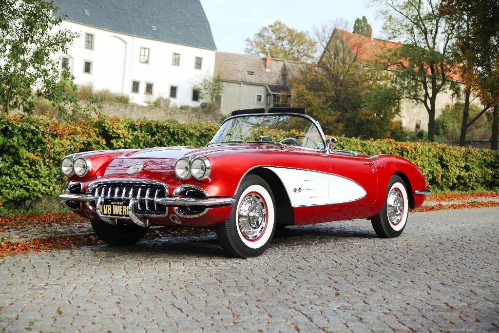 1960 Chevrolet Corvette C1 NCRS. © spothits/V8 Werk