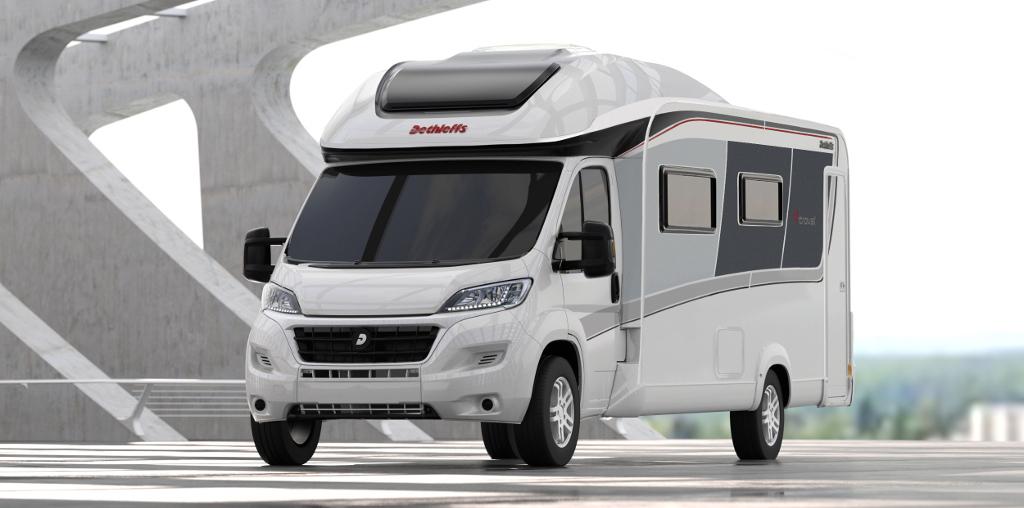Dethleffs 4-travel: Neue teilintegrierte Kompakt-Reisemobile. © spothits/Dethleffs