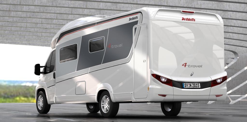 dethleffs 4 travel neue kompakt reisemobile spothits. Black Bedroom Furniture Sets. Home Design Ideas