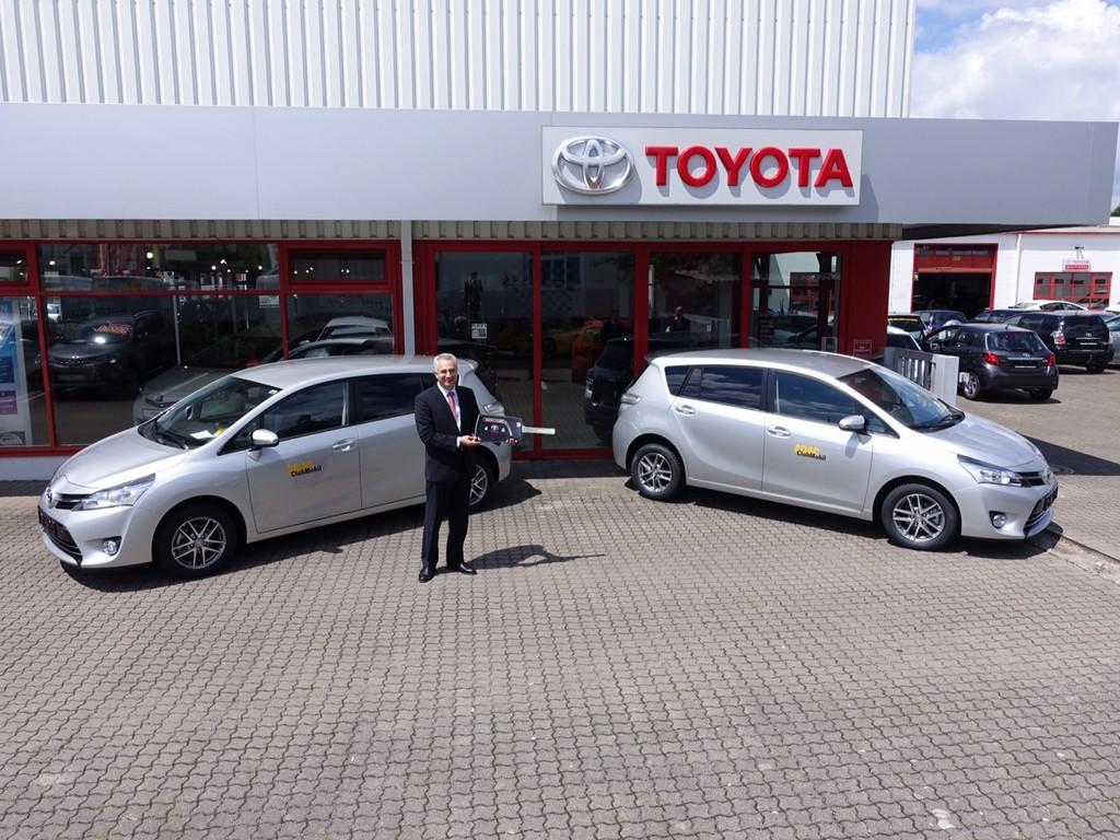 ADAC übernimmt 250 Toyota Verso. © Auto-Medienportal.Net/ADAC