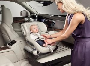 Volvo entwickelt neuartiges Kindersitz-Konzept. © spothits/Auto-Medienportal.Net/Volvo