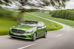 Überarbeitete A-Klasse bestellbar. © spothits/Auto-Medienportal.Net/Daimler