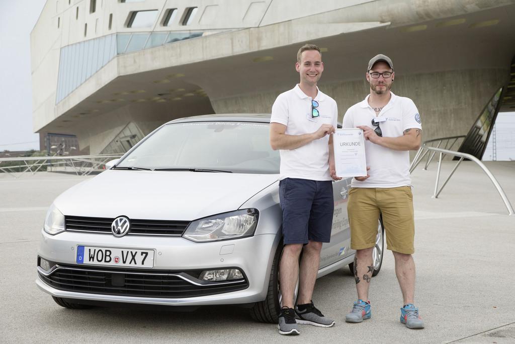 Gewinner der Think-Blue-Challenge stehen fest. © spothits/Auto-Medienportal.Net/Volkswagen