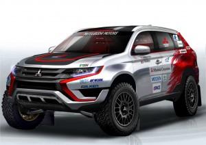 Mitsubishi startet bei Baja 500 in Portugal. © spothits/Auto-Medienportal.Net/Mitsubishi