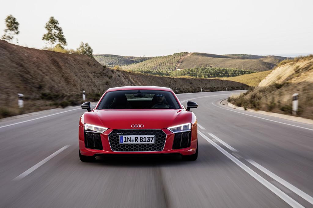 Audi R8 V10: Hohes Suchtpotenzial. © spothits/Auto-Medienportal.Net/Audi