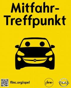 Opel investiert in Mitfahrzentrale Flinc. © spothits/Auto-Medienportal.Net/Opel
