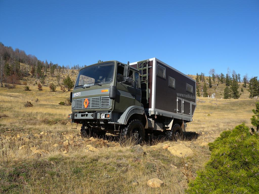 Rustikab: Günstig zum eigenen Fernreise-Mobil. © spothits/Auto-Medienportal.Net/Fischer