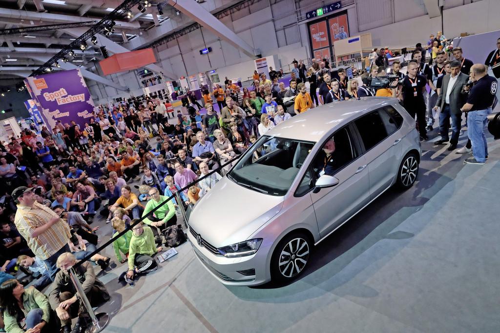 Volkswagen zufrieden mit Ideen-Expo. © spothits/Auto-Medienportal.Net/Volkswagen