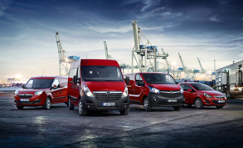 Opel steigert Nutzfahrzeugabsatz um ein Viertel. © spothits/Auto-Medienportal.Net/Opel