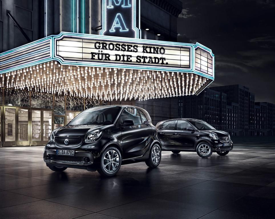 Smart bringt Edition Blackbuster. © spothits/Auto-Medienportal.Net/Daimler