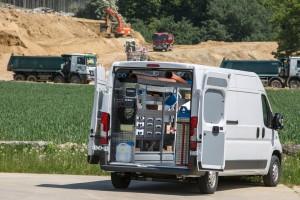 Fiat stellt Ducato Montagemobil auf Sortimo HD um. © spothits/Auto-Medienportal.Net/Fiat
