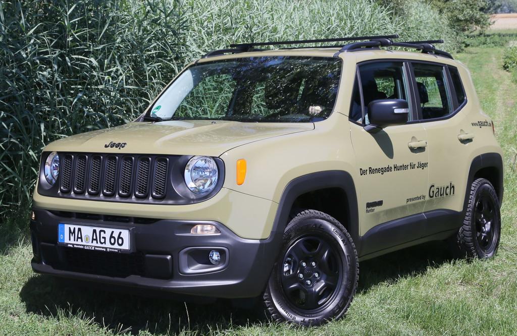 Jeep Renegade für Jäger und Förster. © Auto-Medienportal.Net/Jeep