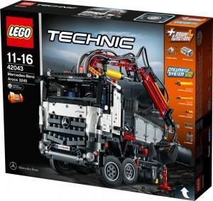 Lego bringt den Mercedes-Benz Arocs. © spothits/Auto-Medienportal.Net/Lego