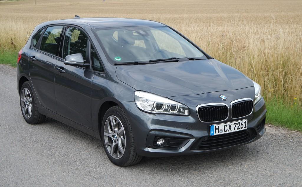 Kurztest BMW 216d Active Tourer: Inzwischen gewohnt. © spothits/Auto-Medienportal.Net