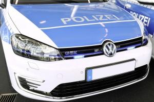 Volkswagen übergibt der Golf GTE an die niedersächsische Polizei. © spothits/Auto-Medienportal.Net/Volkswagen