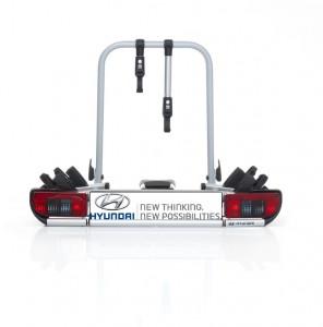 Hyundai bringt neuen Fahrradträger für die Anhängerkupplung. © spothits/Auto-Medienportal.Net/Hyundai