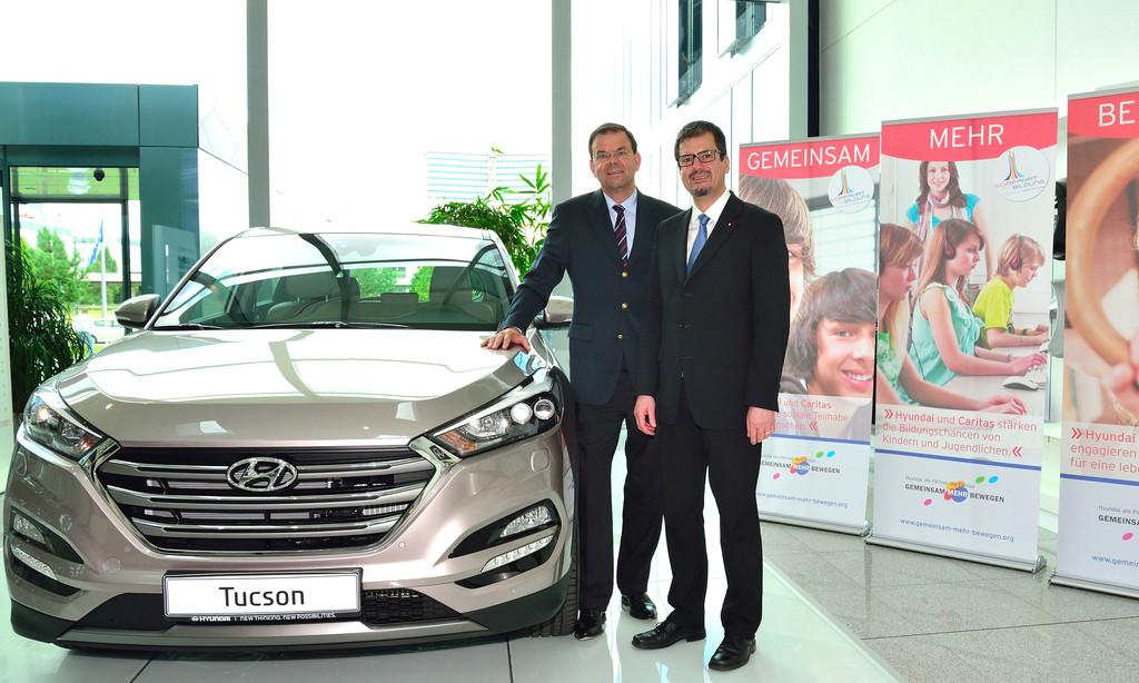 Hyundai und Caritas verlängern Partnerschaft. © spothits/Auto-Medienportal.Net/Hyundai