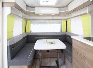 Caravan Salon 2015: Dethleffs c'trend mit der neuen Farben. © spothits/Dethleffs