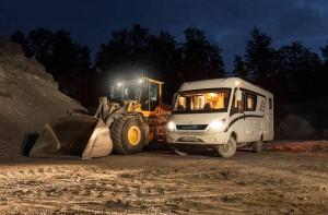 Caravan Salon 2015: Hymermobil ML-I Allrad. © spothits/Hymer
