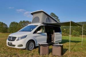 Caravan Salon 2015: Studie auf Basis der Mercedes-Benz V-Klasse. © spothits/Hymer